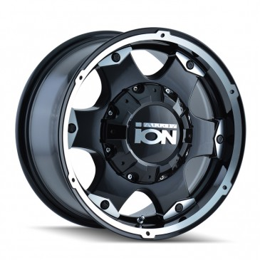 Ion Alloy 194 - Black and Machined