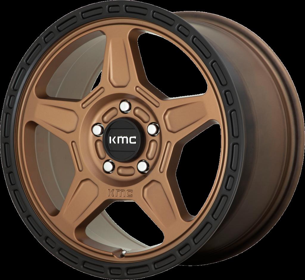 KMC Alpine 720 - Matte Bronze with Black Lip