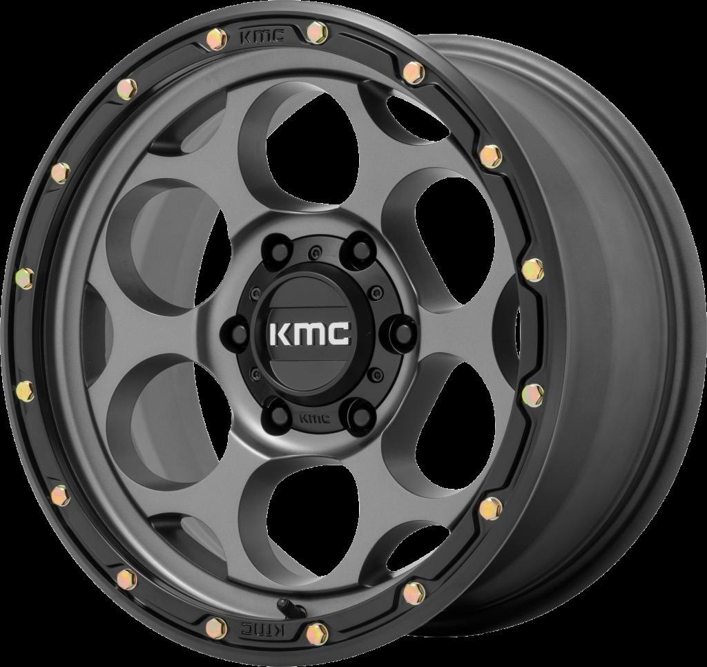 KMC Dirty Harry 541 - Satin Gray with Black Lip
