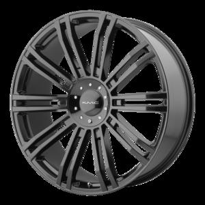 KMC Wheels KM677 D2 - Black