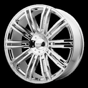 KMC Wheels KM677 D2 - Chrome
