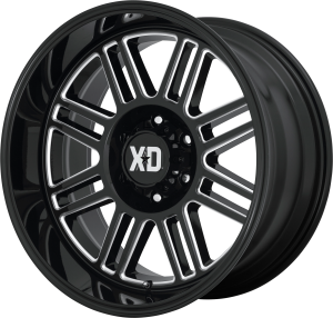 XD Cage 850 - Gloss Black and Milled
