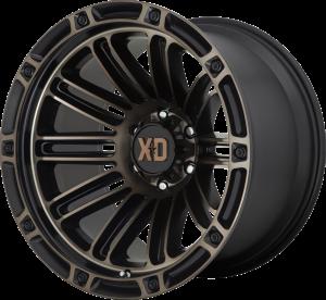 XD  Double Deuce 846 - Satin Black with Dark Tint