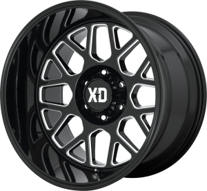 XD Grenade 2 849 - Gloss Black and Milled