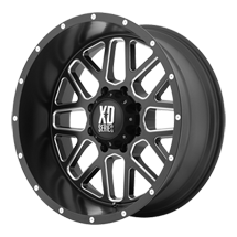 XD Grenade 820 - Satin Black with Milled Spokes