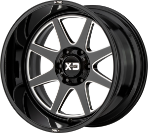 XD Pike 844 - Gloss Black and Milled