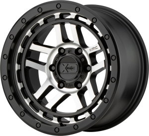 KMC Recon 540 - Satin Black with Machined Face