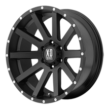 XD Heist 818 - Black with Milled Beadlock