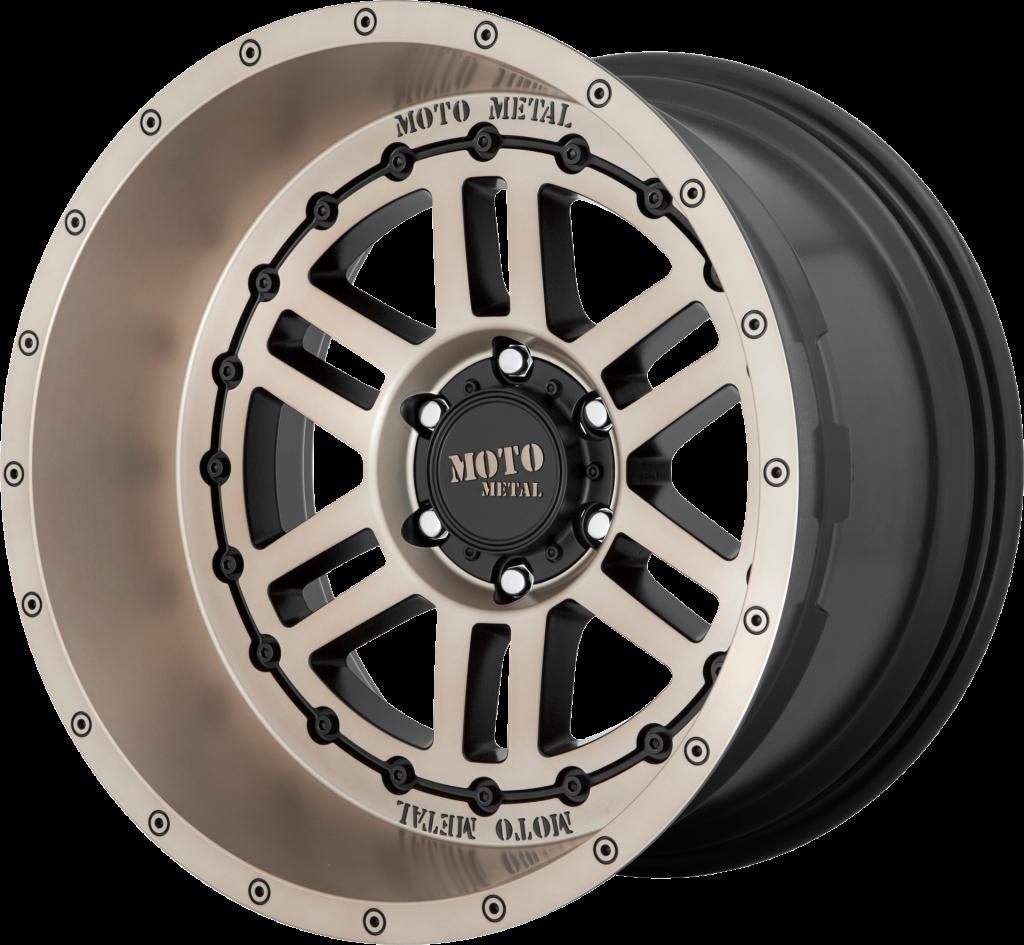 Moto Metal MO800 Deep Six - Satin Black with Bronze Tint