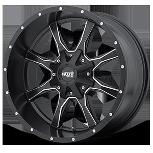 Moto Metal MO970 - Black and Milled