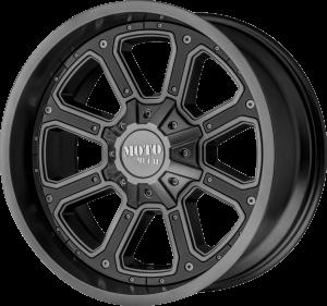 Moto Metal MO984 Shift - Satin Gray with Gloss Black Inserts