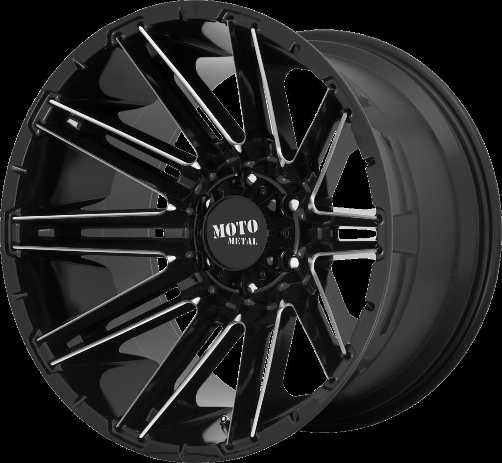 Moto Metal MO998 Kraken - Black and Milled