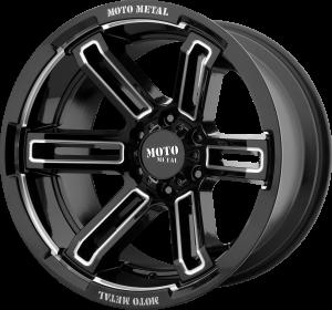 Moto Metal MO991 Ruckus - Black and Milled