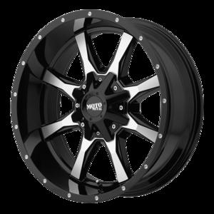Moto Metal MO970 - Black and Machined