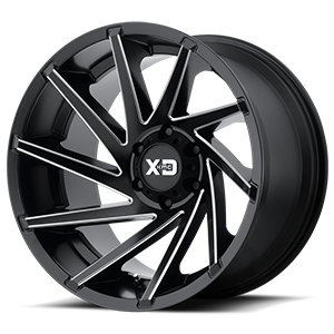 XD Cyclone 834 - Satin Black with Milled Spokes