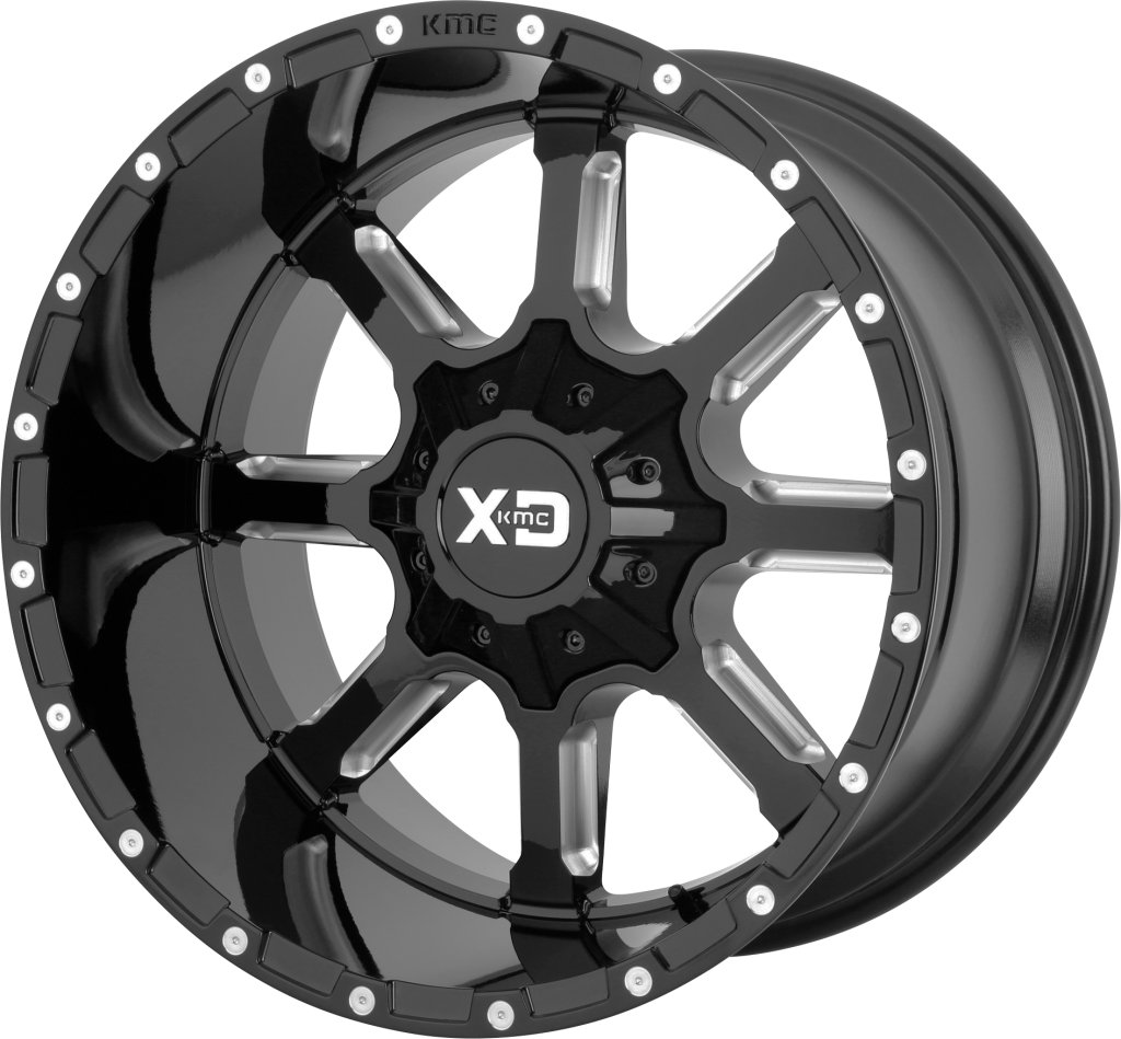 XD Mammoth 838 - Gloss Black and Milled