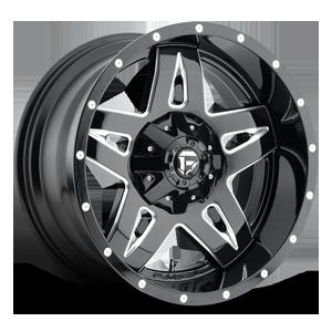Fuel Full Blown D554 - Black/Milled