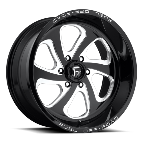Fuel Flow 6 D587 - Gloss Black and Milled