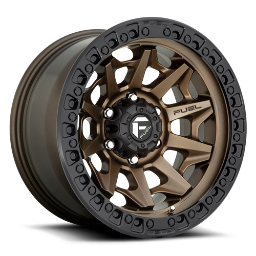 Fuel Covert D696 - Bronze with Matte Black Ring