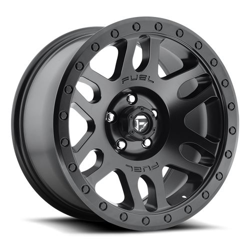 Fuel Recoil D584 - Matte Black