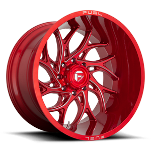 Fuel Runner D742 - Candy Red and Milled
