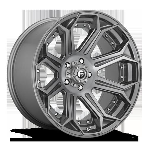Fuel Siege D705 - Platinum and Brushed
