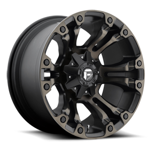 Fuel Vapor D569 - Matte Black with Dark Tint Machined