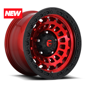 Fuel Zephyr D632 - Candy Red with Matte Black Ring