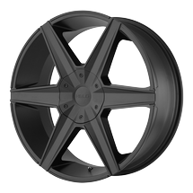 Helo Wheels HE887 - Satin Black