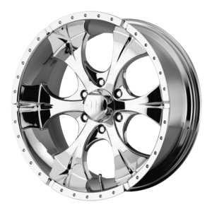 Helo Wheels HE791 - Chrome