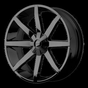 KMC Wheels KM651 Slide - Black