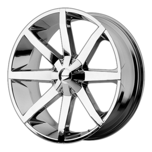 KMC Wheels KM651 Slide - Chrome