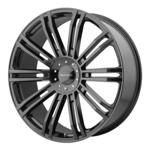 KMC Wheels KM677 D2 - Black