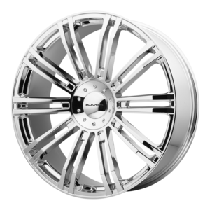 KMC Wheels KM677 D2 - Chrome