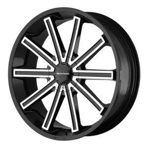 KMC Wheels KM681 Nerve - Black