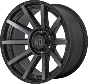 XD Outbreak 847 - Satin Black with Gray Tint