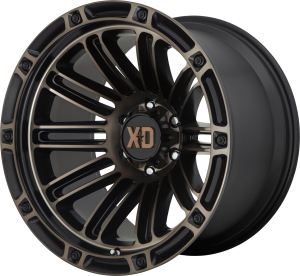 XD  Double Deuce 846 - Satin Black with Dark Tint