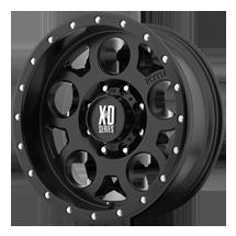 XD Enduro Pro 126 - Matte Black with Black Beadlock
