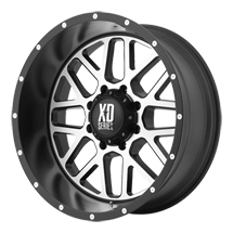 XD Grenade 820 - Satin Black with Machined Face