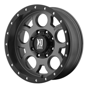 XD Enduro Pro 126 - Matte Gray with Black Beadlock