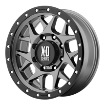 XD Bully 127 - Matte Gray with Black Reinforcing Ring