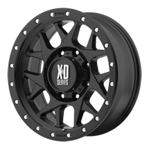 XD Bully 127 - Satin Black with Reinforcing Ring