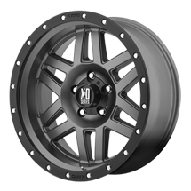 XD Machete 128 - Matte Gray with Black Reinforcing Ring