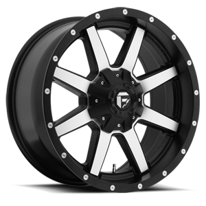 Fuel Maverick D537 - Black/Machined