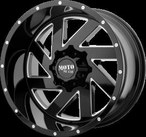 Moto Metal MO988 Melee - Black and Milled