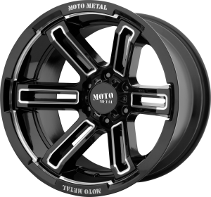 Moto Metal MO991 Ruckus - Black and Milled