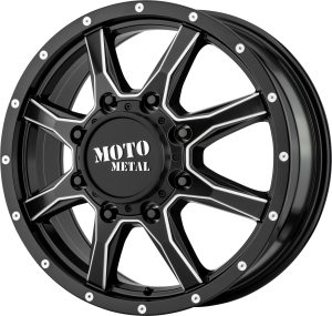 Moto Metal MO995 Dually - Satin Black and Milled