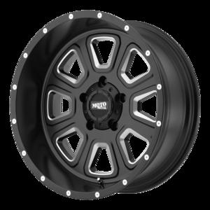 Moto Metal MO972 - Satin Black and Milled