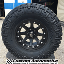 17x9 XD Addict 798 Matte Black - 35x12.50r17LT Nitto Trail Grappler MT