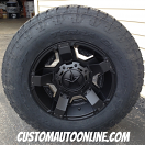 17x9 XD Rockstar 2 811 Black - P265/70r17 Nitto Terra Grappler G2